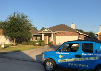 Precision Roof Crafters Outside Houston Home